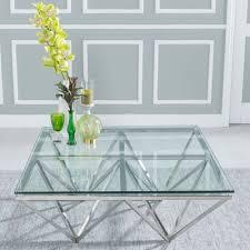 oak glass coffee tables