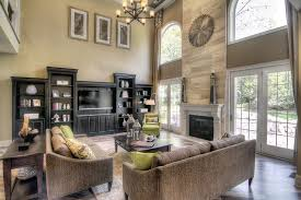 the two story grand room with beautiful