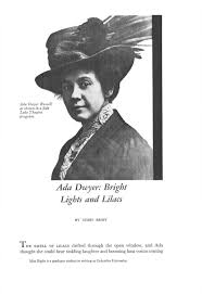 Ada Dwyer: Bright Lights and Lilacs - Issuu