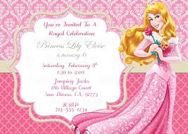 Printable Sleeping Beauty Princess Aurora Birthday Party
