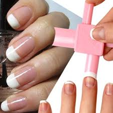 french tip dip nail art gallery