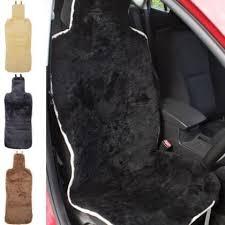 genuine sheepskin ripper fastened seat