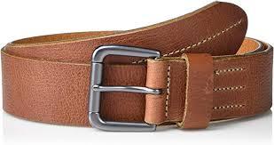 fossil men s gannon leather belt