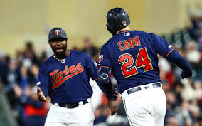 Cron powers Twins over Tigers for doubleheader split | Duluth News ...