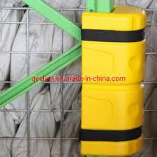 China Plastic Structural Column Upright Post Protection Rack Protector China Rack Protector Corner Guard