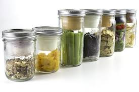 kitchen diy mason jar snack pack