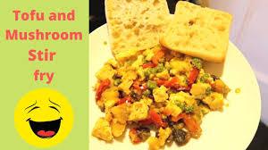 Scrambled Tofu with Potatoes, Mushrooms and Peppers // Tofu and ...