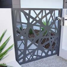 Garden Decorative Laser Cut Main Metal Fence Gate Panels Manufacturers And Suppliers China Factory Price Keenhai
