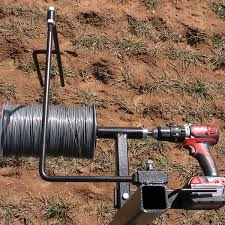 Electric Fence Reel Work Smarter And Faster With This Wirw Winder Electric Fence Reel