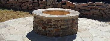 katy outdoor fireplace and gas firepit