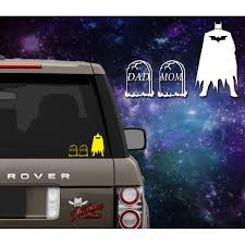 Parody Batman Family Decal Outlaw Decals
