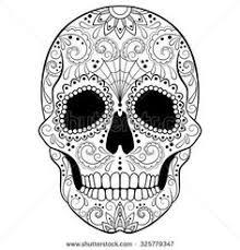 22 Beste Afbeeldingen Van Kleurplaten Doodskop Kleurplaten