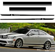 2020 507 Style Set Vinyl Decal Side Stripes Hood Roof Rear For Mercedes Benz C Class W204 Coupe Sedan C63 Amg Performance Stickers From Ldyou1990 64 8 Dhgate Com