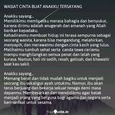 wasiat cinta buat anakku quotes writings by yuni ummu wafi