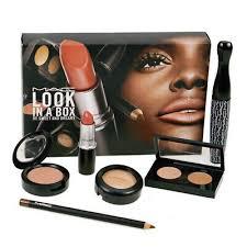 mac makeup gift set look in a box be
