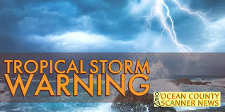 NEW JERSEY: Tropical Storm Warning ...