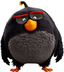 Angry Birds, Birds 2, Cartoon Birds, Cute Clipart, - Black Bomb Angry Bird  , Transparent Cartoon - Jing.fm