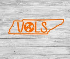 Tennessee Vols Tristar Cup Or Car Decal Etsy