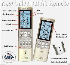 mini split a c remote control fits most