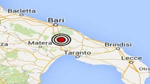 Terremoto in Puglia: forte scossa al largo di Brindisi, paura in ...
