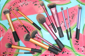 my collection of makeup brushes feat
