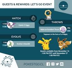 Quests & Rewards: Let's Go Event : TheSilphRoad