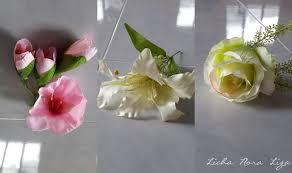 diy gubahan bunga untuk hantaran
