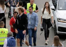 Alexander Zverev Germany CL arrives his girlfriend Editorial Stock Photo -  Stock Image