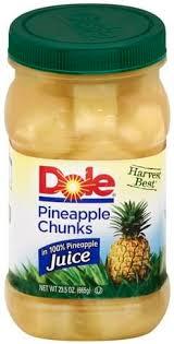 pineapple juice pineapple chunks