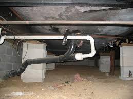 rat problem under mobile home floor