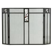panel fireplace screen meyda tiffany