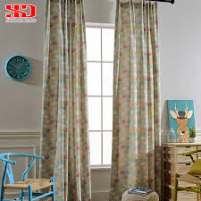 Children Elephant Blackout Curtains For Kids Bedroom Drapes For Living Room Fabric Blinds Window Cartoon Cotton Linen Curtain Curtains For Blackout Curtains For Kidscurtains For Kids Aliexpress