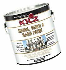 Kilz Exterior Siding Fence And Barn Paint White 1 Gallon For Sale Online Ebay