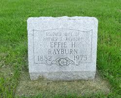 Effie Hamilton Rayburn (1882-1975) - Find A Grave Memorial