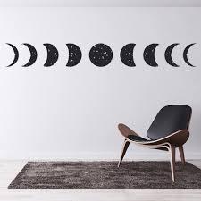 Full Moon Moon Phase Wall Sticker Ws 44122 Ebay