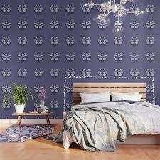 purple sugar skull wallpaper by