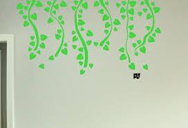 Vine Wall Decals Living Room Decals Tree Vinyl Wall Decals Etsy