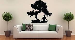 Custom Wall Decals Stickers Vinyl Wall Murals Sign Shop Removable Wall Decals Meditation Room Wall Decals
