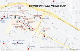 downtown las vegas map 2020