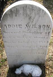 Addie Wilson Morriss (1861-1861) - Find A Grave Memorial