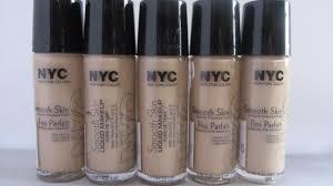 nyc smooth skin liquid makeup vitamin a