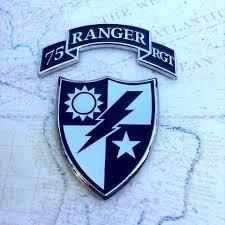 75th Ranger Rgmt Scroll Auto Medals