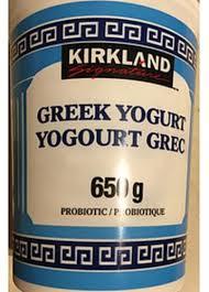 kirkland signature probiotic greek