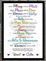 anniversary gifts for her him disney