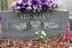 Mrs Ruthie Smith Hensley (1918-1998) - Find A Grave Memorial