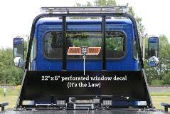Zip S Vinyl Window Decal Slow Down Move Over It S The Law