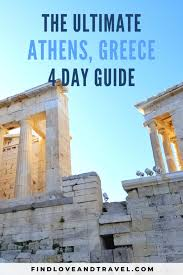 4 days in athens your ultimate guide