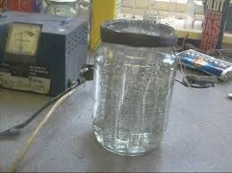 home made hydrogen cell you