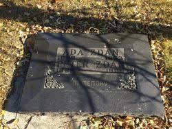 Ada Miller Zdan (1889-1953) - Find A Grave Memorial
