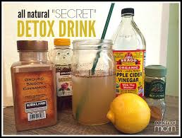 all natural secret detox drink recipe